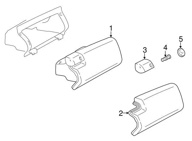 1994 2018 Mercedes Benz Lock Cylinder 210 689 00 01