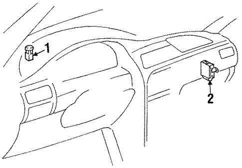 Daytime Running Lamps For 1999 Chevrolet Prizm