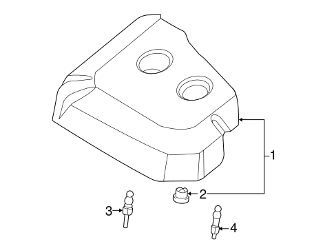 Engine Cover Grommet