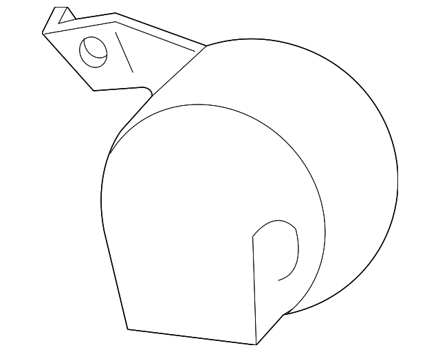 Genuine Gm Horn 22758313