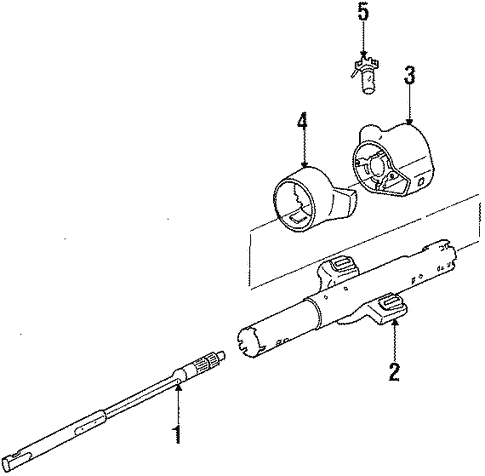 4db8cc0c2d6a0bf33b3905c0475ea360 oem 1987 chevrolet cavalier steering column assembly parts gm