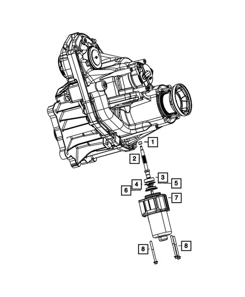 Gearshift Controls and Related Parts for 2018 Jeep Grand Cherokee #0