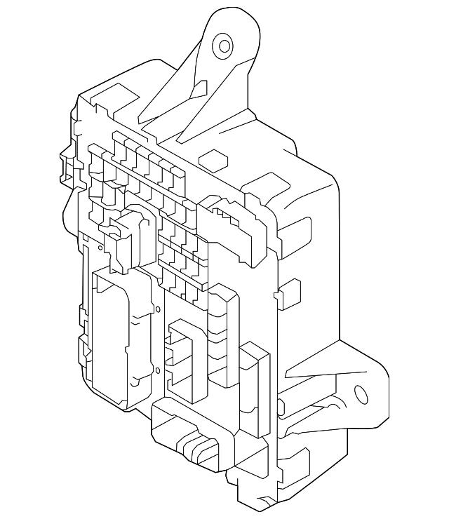 2017 kia cadenza fuse box 91950