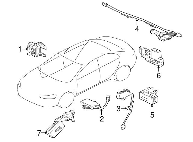Mitsubishi Ignition Immobilizer Module 8670a040