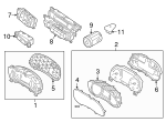 Light Sensor - Kia (97253-G5100)