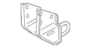 Tow Hook Bracket - Land-Rover (KPD000031)