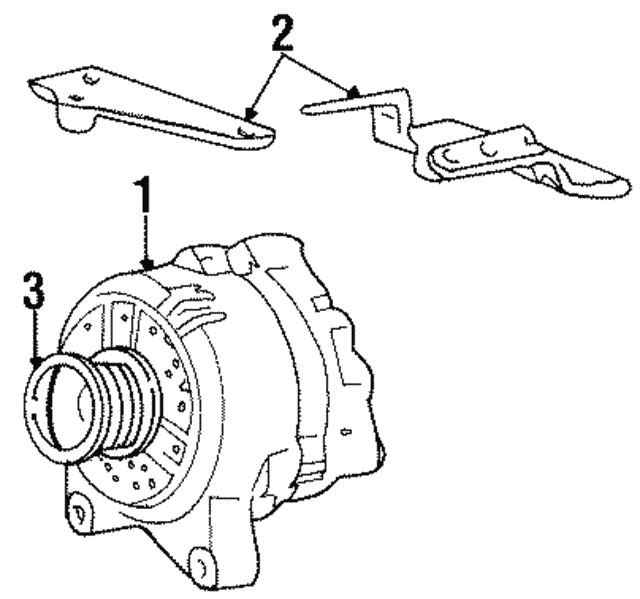 Alternator - Ford (4U2Z-10V346-APRM)