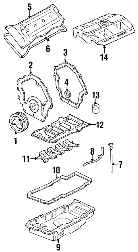 oem 2001 cadillac eldorado engine parts parts