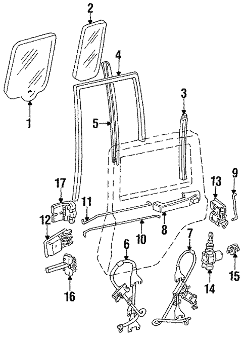 1996 Jeep Parts Diagram