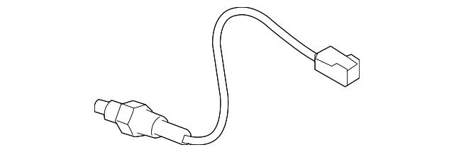 Nissan 22693-JA00B Sensor Assembly Air Fuel Ratio