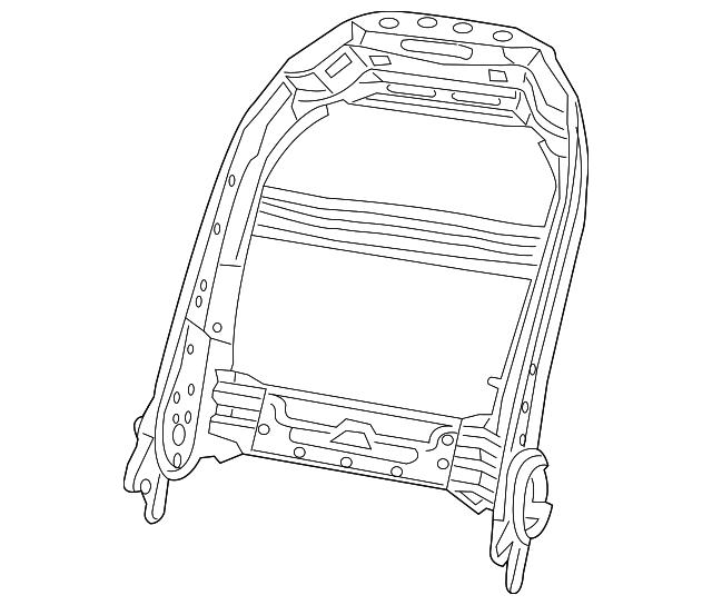 2013 2019 Mopar Seat Back Frame 68260534ac
