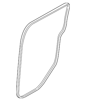Body Weather-Strip - Ford (DT1Z-6125324-B)
