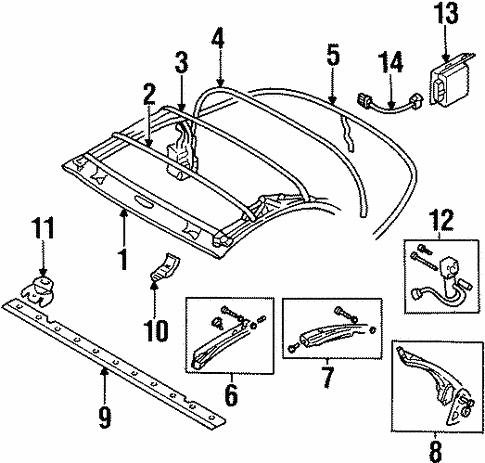 Mitsubishi Eclipse Frame Diagram