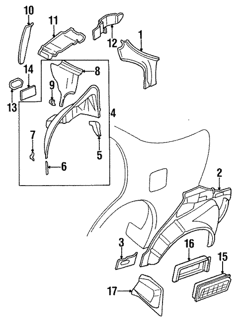 Inner Structure For 1997 Nissan Maxima