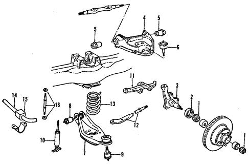 front suspension for 2000 dodge ram 3500 van nyc mopar parts 2000 Jeep Grand Cherokee Front End Diagram