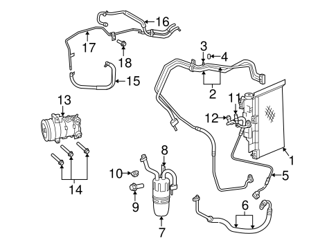 dodge caravan ac compressor with Condenser  Pressor And Lines Scat on Rear Defrost Wiring Diagram also Condenser  pressor And Lines Scat furthermore 2002 Ford Excursion Fuse Box Diagram in addition P 0996b43f8075b7b8 further Air Conditioning.