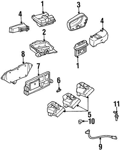 oem 1998 chevrolet lumina ignition system parts