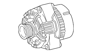 Remanufactured Alternator - Mercedes-Benz (013-154-80-02-88)