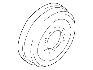 Brake Drum - Toyota (42431-26150)