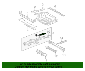 Side Rail Assembly Reinforcement
