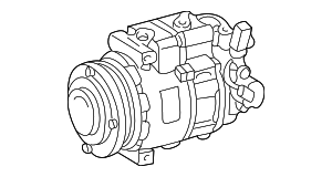 Compressor - Mercedes-Benz (001-230-29-11-80)