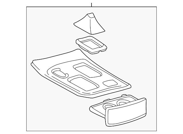 upper console