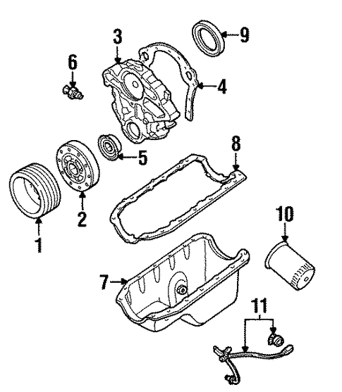 Ford Ranger Lubrication Diagram