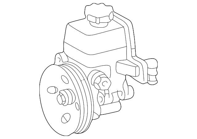 1998 2004 Mercedes Benz Slk 230 Power Steering Pump 003 466 46 01