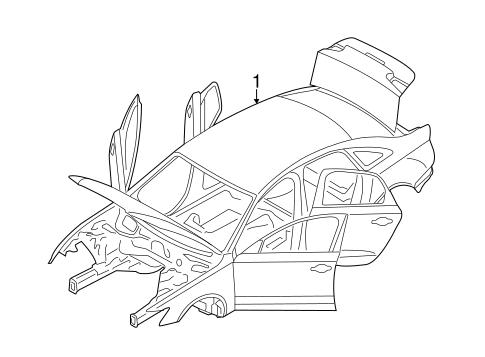 Body Shell For 2015 Audi A6 Quattro