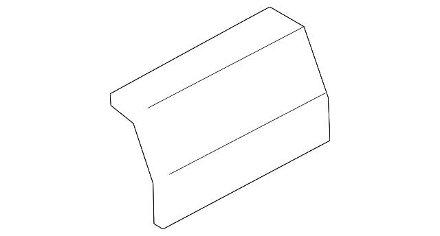 Genuine Ford Windshield Pillar Trim Cap FL3Z-1531459-AA