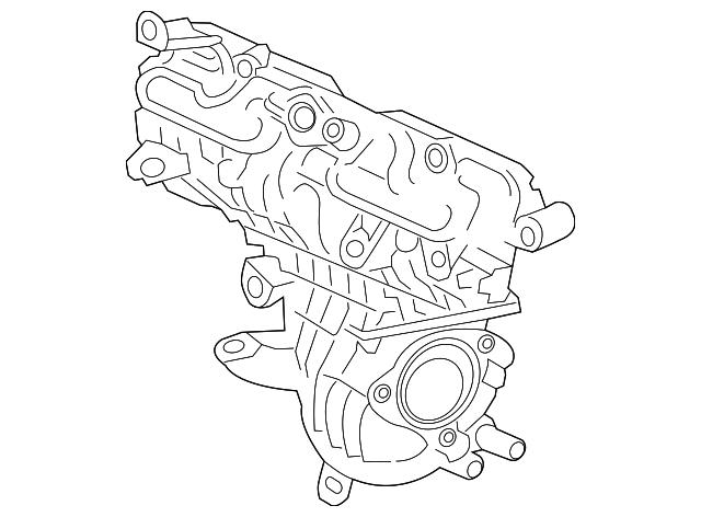 2012 2018 Toyota Prius C Intake Manifold 17120 21060