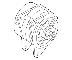 Alternator - Volkswagen (038-903-018-QX)