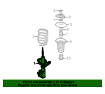 Suspension Strut - Land-Rover (RSC000040)