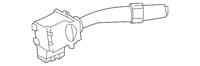 Genuine Toyota 84652-32520 Windshield Wiper Switch Assembly