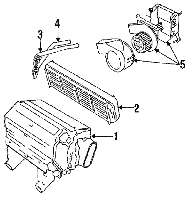 1984 1992 Jaguar Heater Core Jlm11343