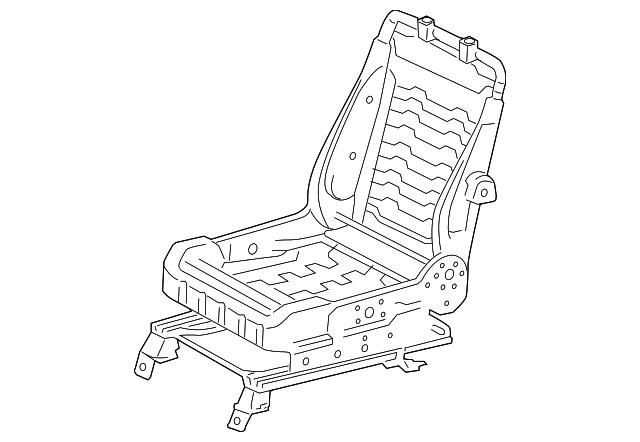 seat back frame