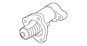 Thermostat Housing - Hyundai (25500-3L100)