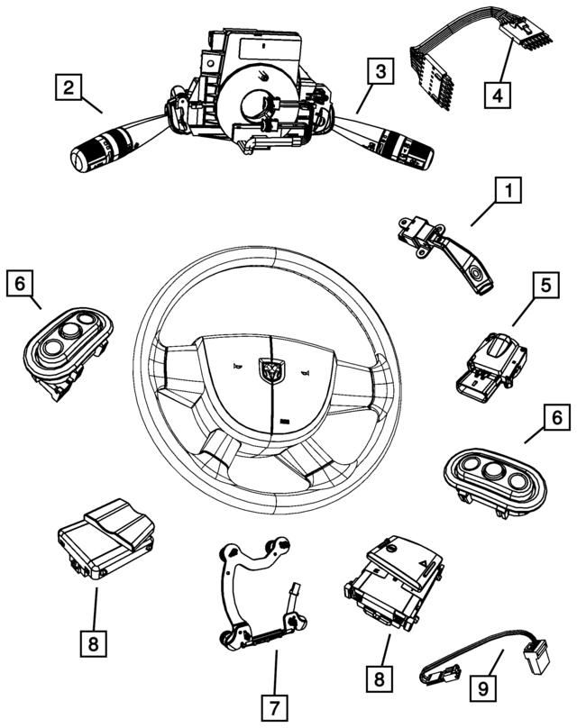 mopar wire harness 68020374ab