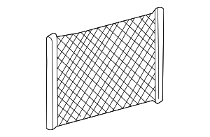 Cargo Net - Mercedes-Benz (203-810-00-49-1A66)
