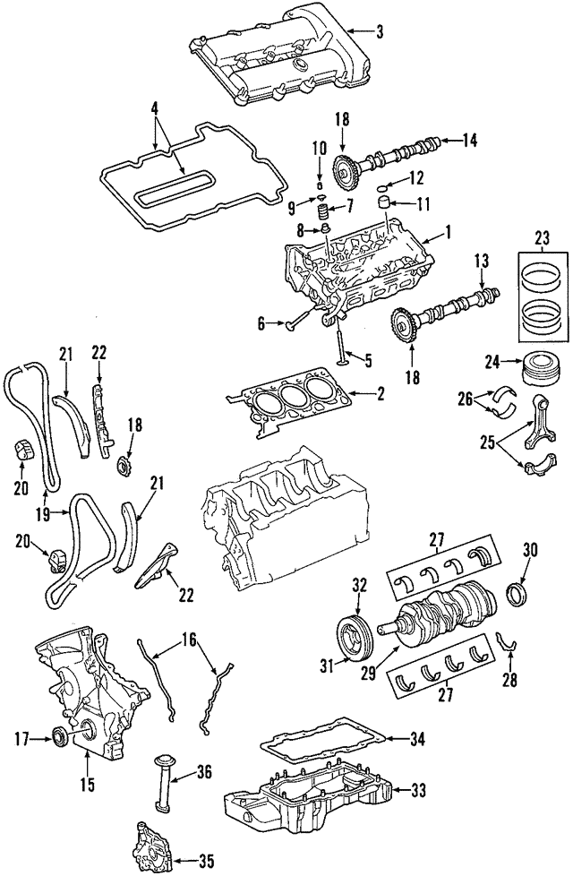 Valve Cover - Ford (4R8Z-6582-AA)