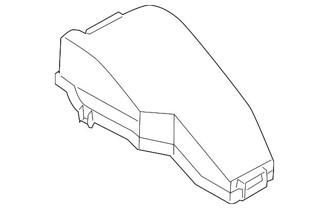 2012 2014 nissan murano fuse relay box upper cover 24382. Black Bedroom Furniture Sets. Home Design Ideas