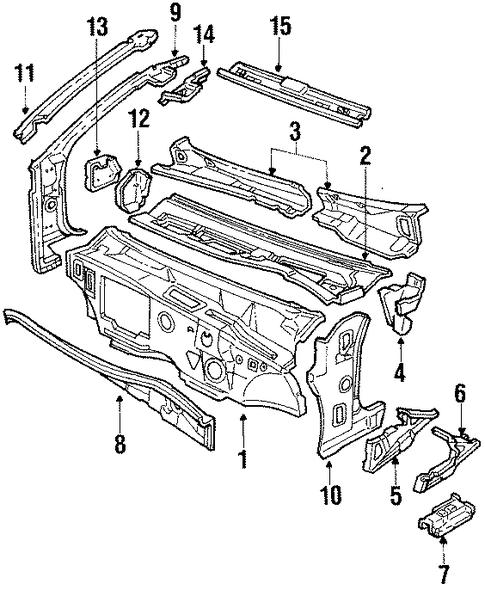 Schaltplang For Oldsmobile Trofeo