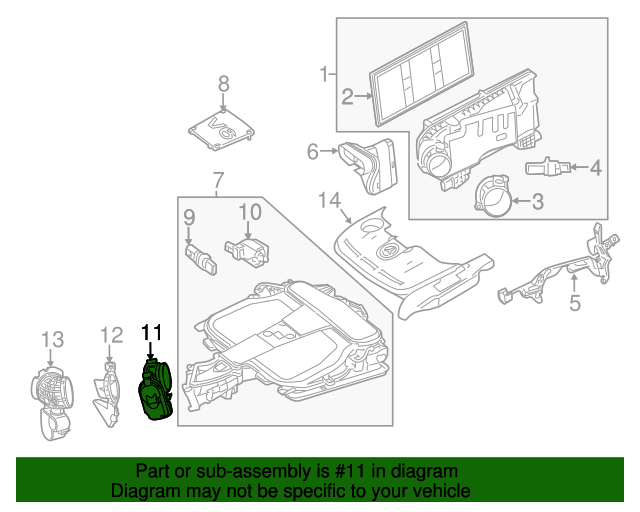 Throttle body mercedes benz 276 141 01 25 for Mercedes benz body parts