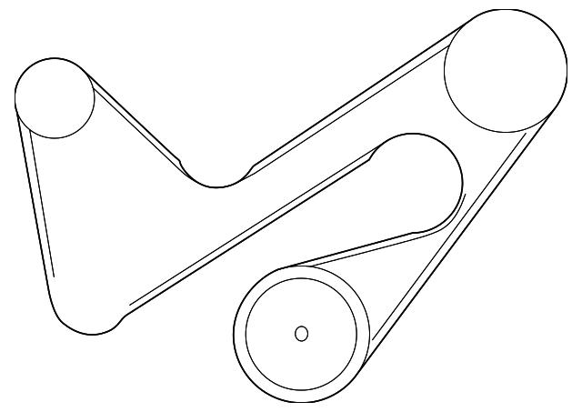Mazda ZZC1-18-381 Serpentine Belt