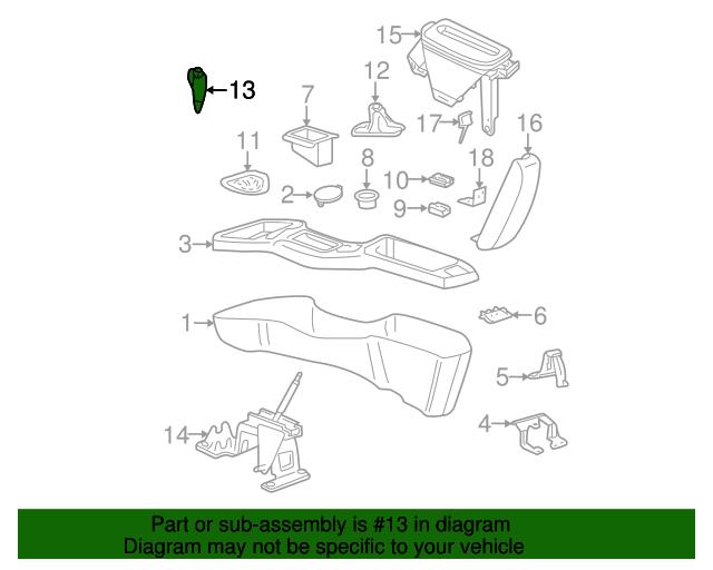 22680651 shift knob for 2004 chevrolet cavalier : gm parts ... 2004 chevy cavalier automatic transmission diagram