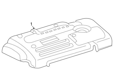 2007 Pontiac Vibe Engine Diagram